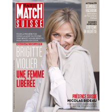 Paris Match Suisse – 03.05.2018