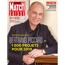 Paris Match Suisse – 25.01.2018