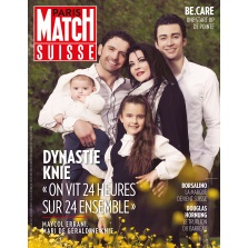 Paris Match Suisse – 04.10.2018